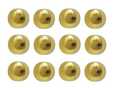 Caflon Ear Piercing Ball Earrings Studs 4mm Gold Plated Surgical Steel 144 Pair