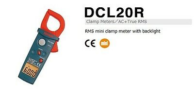SANWA DCL20R RMS mini clamp meter with backlight Clamp Meters/AC+True RMS