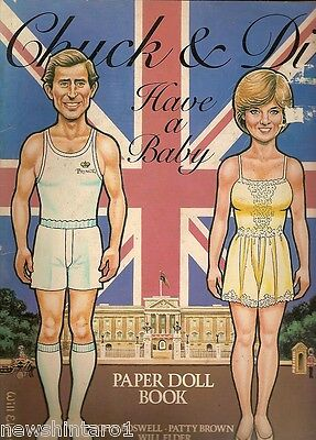 #t18.  Charles & Diana Paper Doll Dress-Up Book