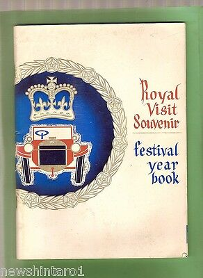 #t18.  1963 Royal Tour Book To New Zealand