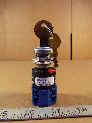 1 NEW KRAUS & NAIMER CA4 POSITION SWITCH w/ILLINOIS M714 KEY ***MAKE OFFER***