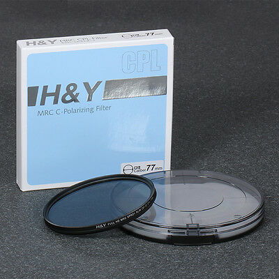 H&Y MRC CPL Multi Coated Polarizer Compatible With Tele and Wide Angle 37mm