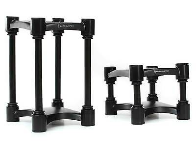 IsoAcoustics ISO-L8R155 Monitor Isolation Stands (Pair) | Medium Iso Acoustics
