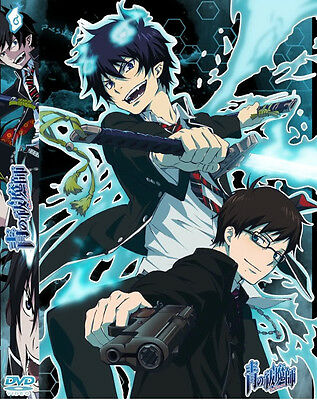 Blue Exorcist (TV 1 - 25 End) DVD + FREE DVD