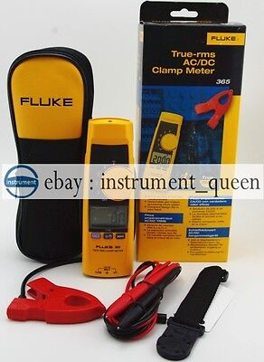 Fluke 365 True-RMS Clamp Meter w/ Detachable Jaw AC/DC w/ Case !!NEW!! F365