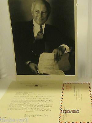 Original  Signed  Typed Letter  Of  Cecil B . DeMille - 1951 Paramount