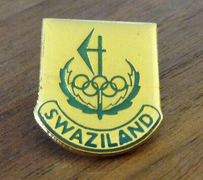 Swaziland Undated National Olympic Committee (NOC) Pin