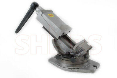 "4"" Tilting 2 Way Tilt 360 Swivel Angle Milling Vise New"