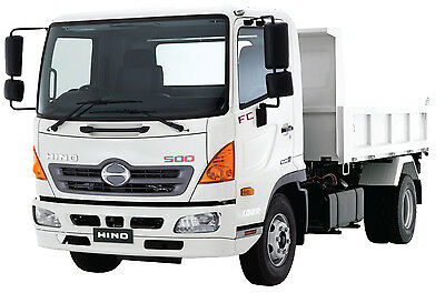 Hino 500 Series Workshop Service Manual on CD