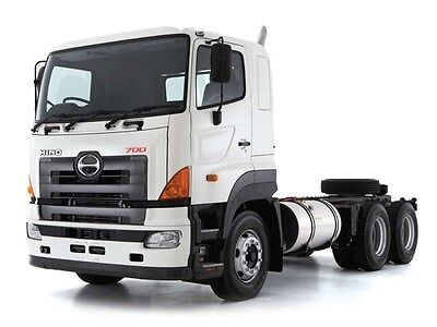Hino 700 Series Factory Workshop Service Manual on CD