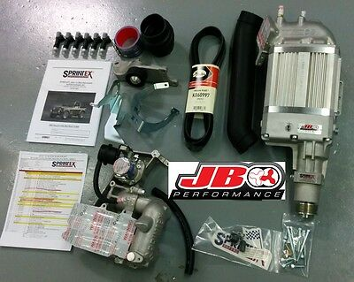 2005-2006 Jeep Wrangler 4.0L TJ Sprintex Supercharger Kit