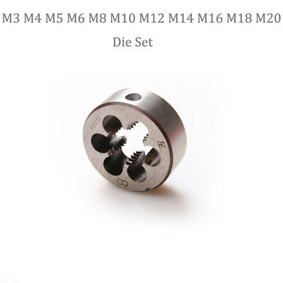 Metric Screw Die Left Hand Thread Threading Machine M3 4 5 6 8 10 12 14 16 18 20