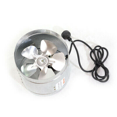 "Inline Duct Booster Exhaust Fan - 4"" 6"" 8"" 10"" 