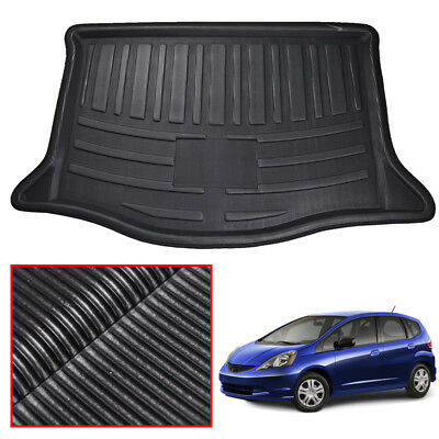 Fit For Honda Fit Jazz 09-13 Rear Trunk Boot Liner Cargo Mat Floor Luggage Tray