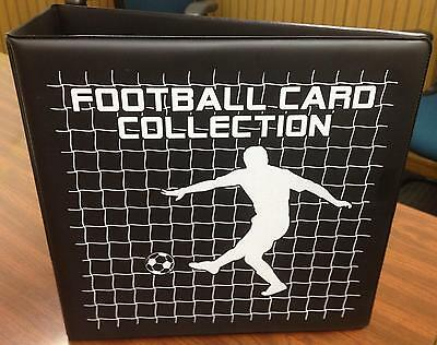 Football Trading Cards Collector Album with 20 x 9 card display pages