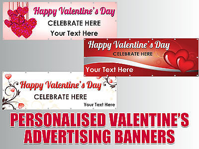 Personalised Outdoor PVC Valentine's Day/Valentine Advertising Banners