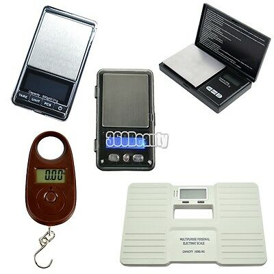 100/300/500g 0.01/0.1g Portable Pocket Digital Diamond Jewelry Weighing Scale