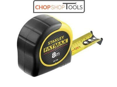 Stanley STA033728 Fatmax 8m 26ft Tape Measure 3 Rivet Metric Only 0-33-728 New