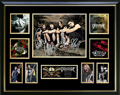 Bullet For My Valentine Signed Framed Memorabilia