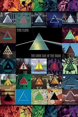 Pink Floyd Album Covers POSTER (61x91cm) Collage Picture Print New Art