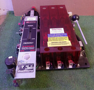 1 Used Zenith Ztsh15Ex-5 150 Amp Automatic Transfer Switch *make Offer*