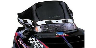 Cobra 12 Black/White Windshield Polaris Indy Trail/Deluxe/Touring 1995-1999
