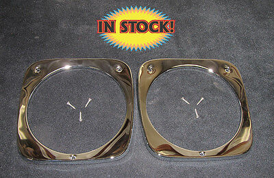 Counterpart 1964 65 & 66 Chevy Truck Headlight Bezel Kit - Pair 64-13045-C