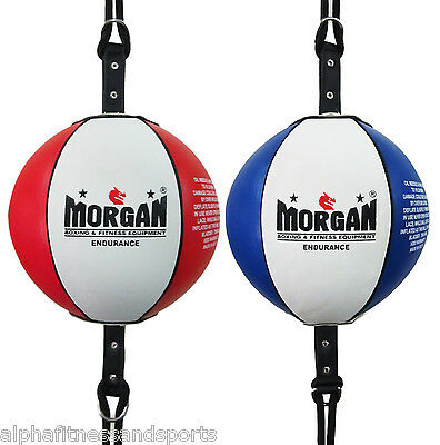 Morgan Pro Floor to Ceiling Ball & Straps Boxing Speed Bag MMA ANBF APPROVED
