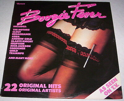 BOOGIE FEVER - 22 ORIGINAL HITS / ORIGINAL ARTISTS - LP - Vinyl - 1978 - UK