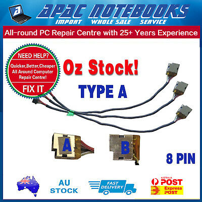 TYPE A: DC Power Jack for HP Pavilion 15-e004tx Notebook  #29