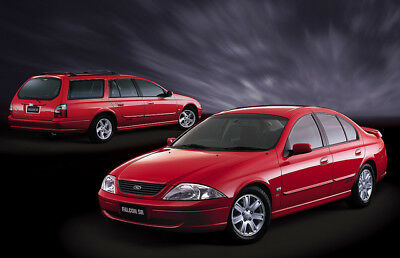 Ford Falcon AU-BA-BF-XR6 & 8 Workshop Repair Service Manual on CD
