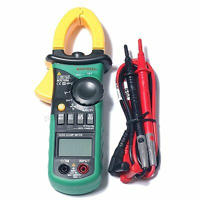 MASTECH MS2108A 4000 Counts AC DC Current Clamp Meter backlight