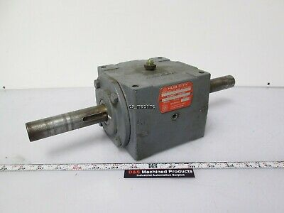 Hub City 150 Bevel Gear Drive 2:1 Ratio Style A *Milled Shaft*