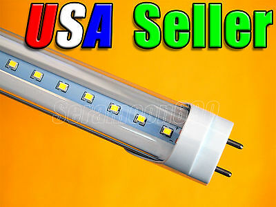 """48"""" 18W 4 Ft Pure White LED T8 Fluorescent Replacement Tube Light G13 Base"""