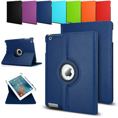 Smart 360 Rotating Stand Leather Case Cover for Apple The New iPad 2 3 4