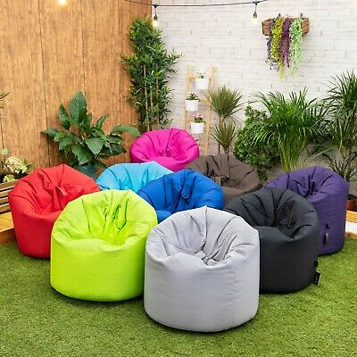 Childrens Kids Large Teens Bean Bag Seat Chair Outdoor Beanbag Garden Gamer