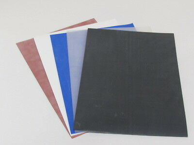 Silicone Rubber Pads 300Mmsq, 1,1.5,2,3,4,5,6,8,and 10Mmthk