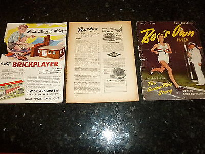 BOY'S OWN PAPER Comic - (Lose Cover) - Vol 76 - No 8 - Date 05/1954 - UK Comic