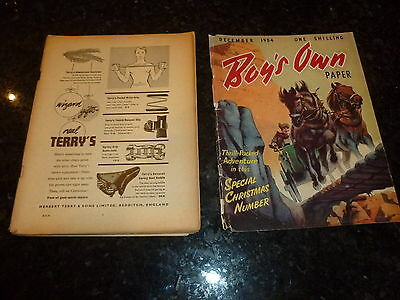BOY'S OWN PAPER Comic - (Lose Cover) - Vol 77 - No 3 - Date 12/1954 - UK Comic