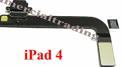Genuine Replacement Dock port flex cable for Apple iPad 4 connector charging