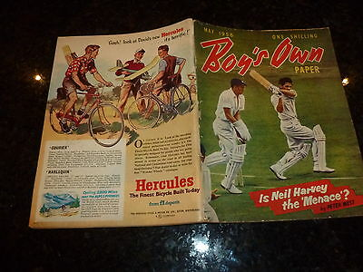 BOY'S OWN PAPER Comic - Vol 78 - No 8 - Date 05/1956 - UK Comic