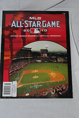 MLB 2010 All Star Game Official Matchday Program
