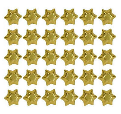 100 In Cadbury Chocolate Gold Stars- Christmas Wedding Gifts Parties Promotions