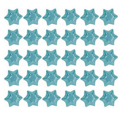 100 Light Blue Chocolate Stars Ideal For Hampers Wedding Kids Birthday Parties