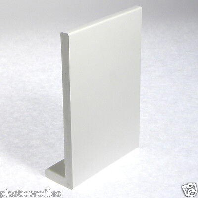 WHITE PLASTIC FASCIA COVER BOARD WINDOW CILL SILL 1250mm LENGTH VARIOUS WIDTHS