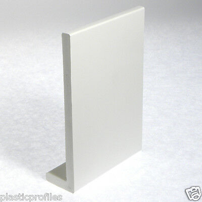 WHITE PLASTIC UPVC PVC COVER BOARD WINDOW CILL SILL 1250mm LENGTH VARIOUS WIDTHS