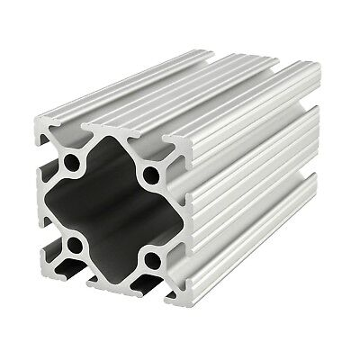 80//20 Inc 40mm x 40mm T-Slot Aluminum 40 Series 40-4040-UL-Black x 455mm N