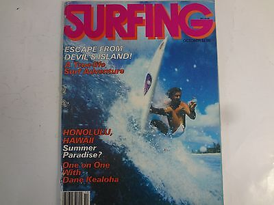 October 1980- SURFING Magazine Volume 16 Number 10 in GREAT condition!