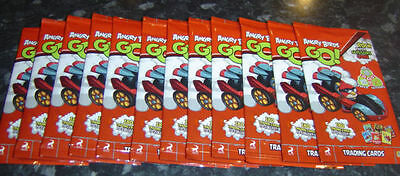 Angry Birds GO! Trading Card Game - 20 Sealed Packets - (6 cards per pack)