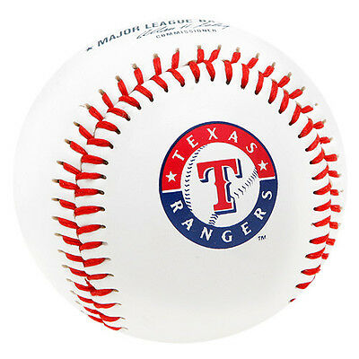 Texas Rangers Rawlings Baseball